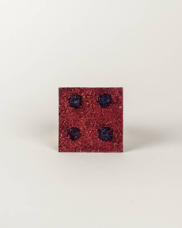 Dark Chocolate Berry Square Four Serving